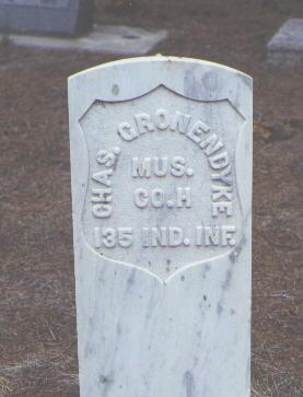 GRONENDYKE, CHAS. - Rio Grande County, Colorado | CHAS. GRONENDYKE - Colorado Gravestone Photos