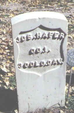 HAFER, JOS. - Rio Grande County, Colorado   JOS. HAFER - Colorado Gravestone Photos
