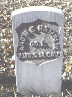 HAMBLIN, AND'W E. - Rio Grande County, Colorado | AND'W E. HAMBLIN - Colorado Gravestone Photos
