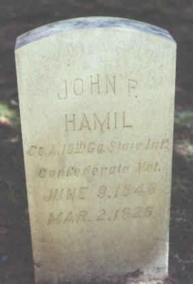 HAMIL, JOHN P. - Rio Grande County, Colorado | JOHN P. HAMIL - Colorado Gravestone Photos