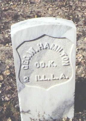 HAMILTON, GEO. W. - Rio Grande County, Colorado | GEO. W. HAMILTON - Colorado Gravestone Photos