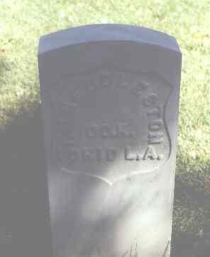 HEDDLESTON, F. M. - Rio Grande County, Colorado   F. M. HEDDLESTON - Colorado Gravestone Photos