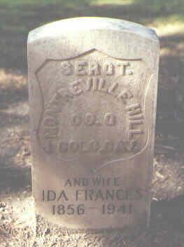 HILL, IDA FRANCES - Rio Grande County, Colorado | IDA FRANCES HILL - Colorado Gravestone Photos