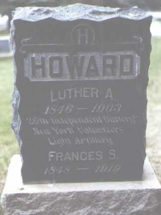HOWARD, FRANCES S. - Rio Grande County, Colorado | FRANCES S. HOWARD - Colorado Gravestone Photos