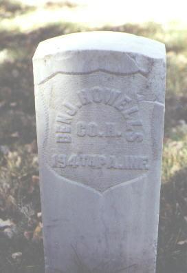 HOWELLS, BENJ. - Rio Grande County, Colorado | BENJ. HOWELLS - Colorado Gravestone Photos