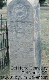 JEMISON, THOMAS CALVIN - Rio Grande County, Colorado | THOMAS CALVIN JEMISON - Colorado Gravestone Photos