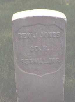 JONES, BEN'J. - Rio Grande County, Colorado | BEN'J. JONES - Colorado Gravestone Photos