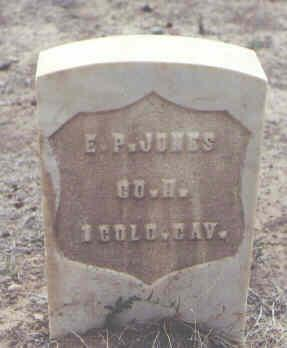 JONES, E. P. - Rio Grande County, Colorado | E. P. JONES - Colorado Gravestone Photos