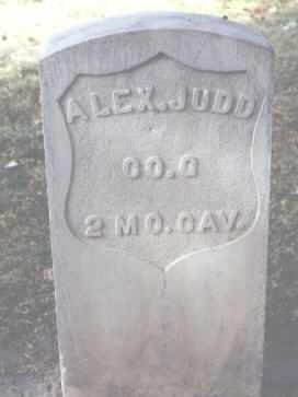 JUDD, ALEX. - Rio Grande County, Colorado | ALEX. JUDD - Colorado Gravestone Photos