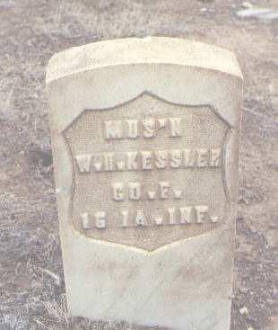 KESSLER, W. H. - Rio Grande County, Colorado   W. H. KESSLER - Colorado Gravestone Photos
