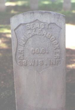 KNICKERBOCKER, C. H. - Rio Grande County, Colorado | C. H. KNICKERBOCKER - Colorado Gravestone Photos