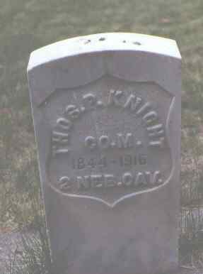 KNIGHT, THOS. P. - Rio Grande County, Colorado | THOS. P. KNIGHT - Colorado Gravestone Photos