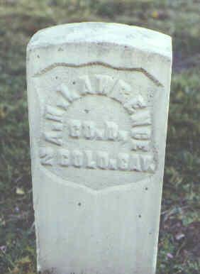 LAWRENCE, A. H. - Rio Grande County, Colorado   A. H. LAWRENCE - Colorado Gravestone Photos