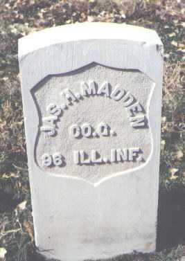 MADDEN, JAMES H. - Rio Grande County, Colorado | JAMES H. MADDEN - Colorado Gravestone Photos