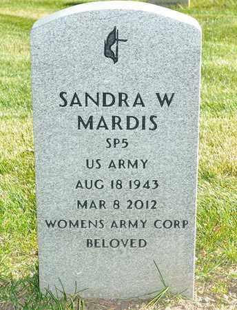 MARDIS, SANDRA - Rio Grande County, Colorado | SANDRA MARDIS - Colorado Gravestone Photos