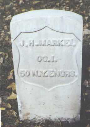 MARKEL, J. H. - Rio Grande County, Colorado | J. H. MARKEL - Colorado Gravestone Photos