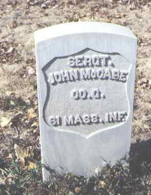 MCCABE, JOHN - Rio Grande County, Colorado | JOHN MCCABE - Colorado Gravestone Photos