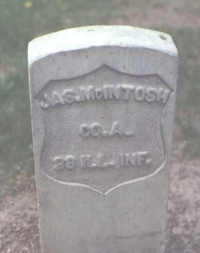 MCINTOSH, JAS. - Rio Grande County, Colorado | JAS. MCINTOSH - Colorado Gravestone Photos