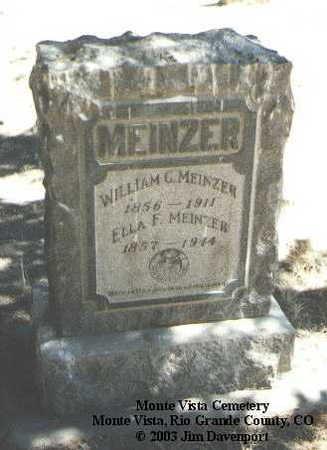MEINZER, ELLA F. - Rio Grande County, Colorado | ELLA F. MEINZER - Colorado Gravestone Photos