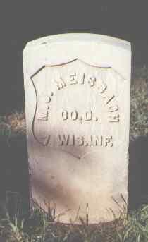 MEISBAGH, M. J. - Rio Grande County, Colorado   M. J. MEISBAGH - Colorado Gravestone Photos