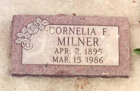 MCCOY MILNER, CORNELIA FRANCES - Rio Grande County, Colorado | CORNELIA FRANCES MCCOY MILNER - Colorado Gravestone Photos