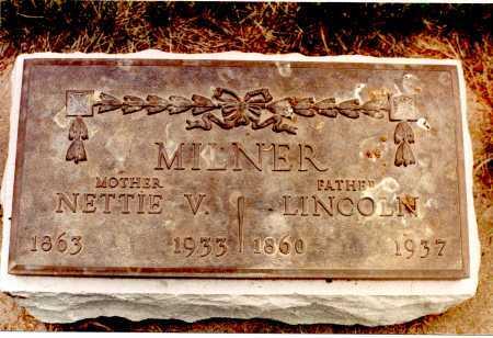 MILNER, NETTIE VIOLA - Rio Grande County, Colorado | NETTIE VIOLA MILNER - Colorado Gravestone Photos