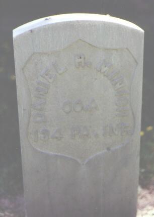 MINICH, DANIEL H - Rio Grande County, Colorado | DANIEL H MINICH - Colorado Gravestone Photos