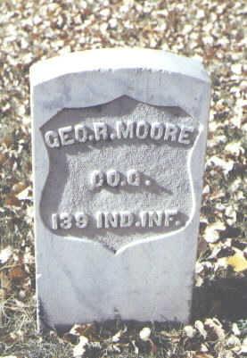 MOORE, GEORGE R. - Rio Grande County, Colorado | GEORGE R. MOORE - Colorado Gravestone Photos