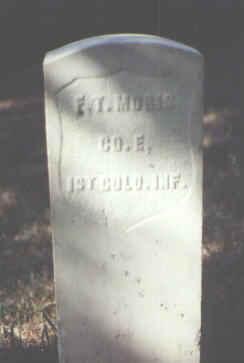 MORIS, F. T. - Rio Grande County, Colorado   F. T. MORIS - Colorado Gravestone Photos
