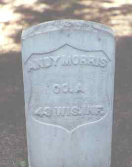 MORRIS, ANDY - Rio Grande County, Colorado | ANDY MORRIS - Colorado Gravestone Photos