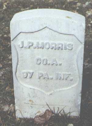 MORRIS, J. P. - Rio Grande County, Colorado | J. P. MORRIS - Colorado Gravestone Photos