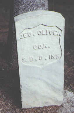 OLIVER, GEO. - Rio Grande County, Colorado | GEO. OLIVER - Colorado Gravestone Photos