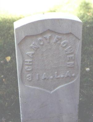 OWEN, CHANCY F. - Rio Grande County, Colorado | CHANCY F. OWEN - Colorado Gravestone Photos