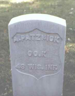 PATZNICK, A. - Rio Grande County, Colorado | A. PATZNICK - Colorado Gravestone Photos