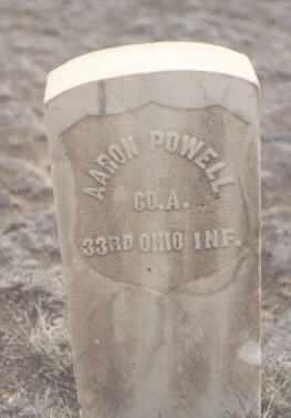 POWELL, AARON - Rio Grande County, Colorado | AARON POWELL - Colorado Gravestone Photos