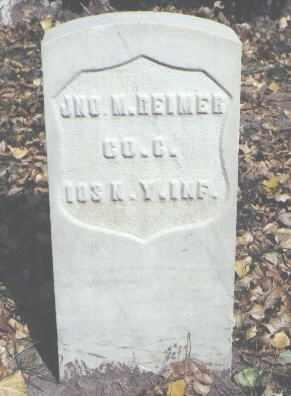 REIMER, JNO. M. - Rio Grande County, Colorado   JNO. M. REIMER - Colorado Gravestone Photos