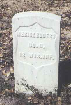 ROGERS, MERICK - Rio Grande County, Colorado | MERICK ROGERS - Colorado Gravestone Photos