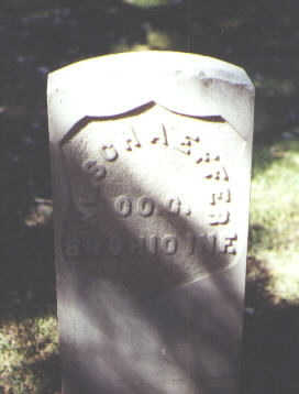 SCHAEFFER, WM. - Rio Grande County, Colorado | WM. SCHAEFFER - Colorado Gravestone Photos
