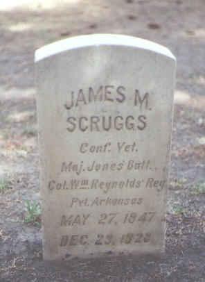 SCRUGGS, JAMES M. - Rio Grande County, Colorado | JAMES M. SCRUGGS - Colorado Gravestone Photos