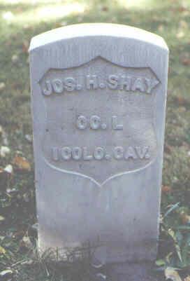 SHAY, JOS. H. - Rio Grande County, Colorado   JOS. H. SHAY - Colorado Gravestone Photos