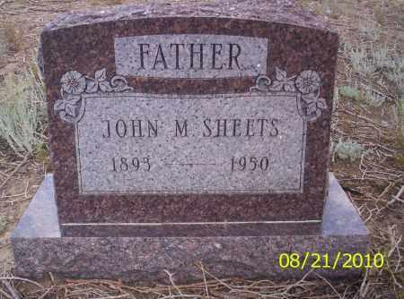 SHEETS, JOHN M - Rio Grande County, Colorado | JOHN M SHEETS - Colorado Gravestone Photos