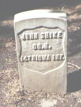 SHIKE, JOHN - Rio Grande County, Colorado | JOHN SHIKE - Colorado Gravestone Photos