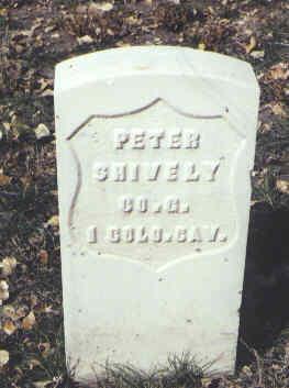 SHIVELY, PETER - Rio Grande County, Colorado | PETER SHIVELY - Colorado Gravestone Photos