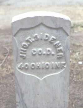 SIDENER, JNO. T. - Rio Grande County, Colorado | JNO. T. SIDENER - Colorado Gravestone Photos