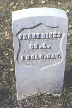 SIKES, FRANK - Rio Grande County, Colorado   FRANK SIKES - Colorado Gravestone Photos