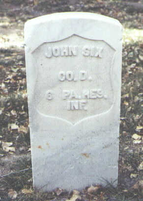 SIX, JOHN - Rio Grande County, Colorado | JOHN SIX - Colorado Gravestone Photos