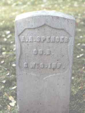 SPENCER, A. A. - Rio Grande County, Colorado   A. A. SPENCER - Colorado Gravestone Photos