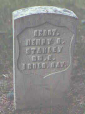 STANLEY, HENRY C. - Rio Grande County, Colorado | HENRY C. STANLEY - Colorado Gravestone Photos