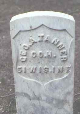 TANNER, GEO. A. - Rio Grande County, Colorado | GEO. A. TANNER - Colorado Gravestone Photos