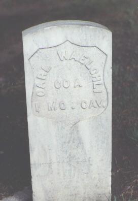 WAELCHLI, CARL - Rio Grande County, Colorado   CARL WAELCHLI - Colorado Gravestone Photos